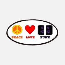 Peace Love Punk Patches