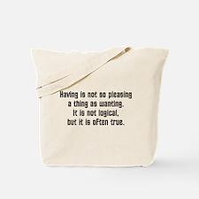 Amok Time Tote Bag