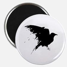"""Grunge Bird 2.25"""" Magnet (10 pack)"""