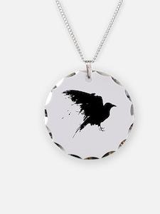 Grunge Bird Necklace