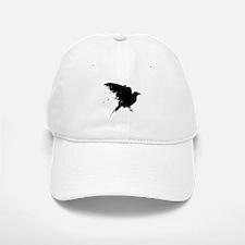 Grunge Bird Baseball Baseball Cap