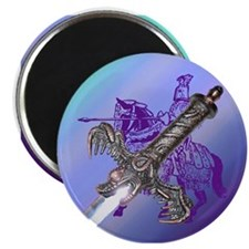 "Knight & Sword 2.25"" Magnet (100 pack)"
