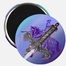 """Knight & Sword 2.25"""" Magnet (10 pack)"""