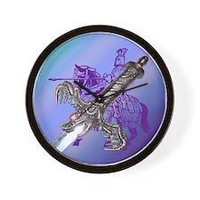 Knight & Sword Wall Clock