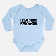 Lack of Pitch Long Sleeve Infant Bodysuit