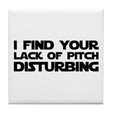 Lack of Pitch Tile Coaster