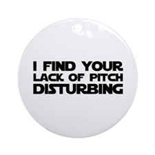 Lack of Pitch Ornament (Round)