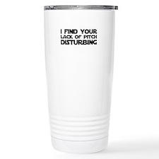 Lack of Pitch Travel Mug