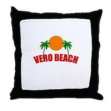 Unique Vero beach Throw Pillow