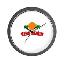 Funny Vero beach Wall Clock