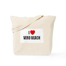 Cute I love miami Tote Bag