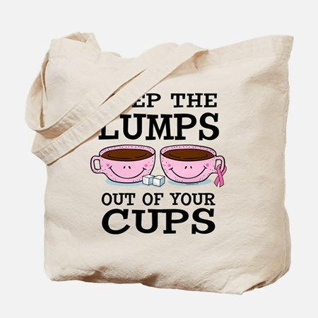 Lumps Out of Cups Tote Bag