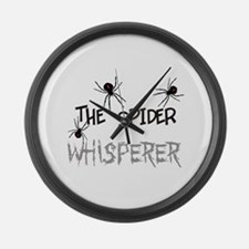 The Whisperer Large Wall Clock
