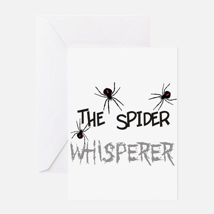The Whisperer Greeting Card