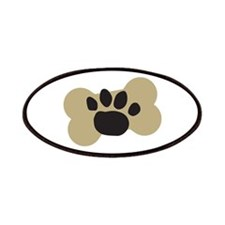 Dog Lover Paw Print Patches
