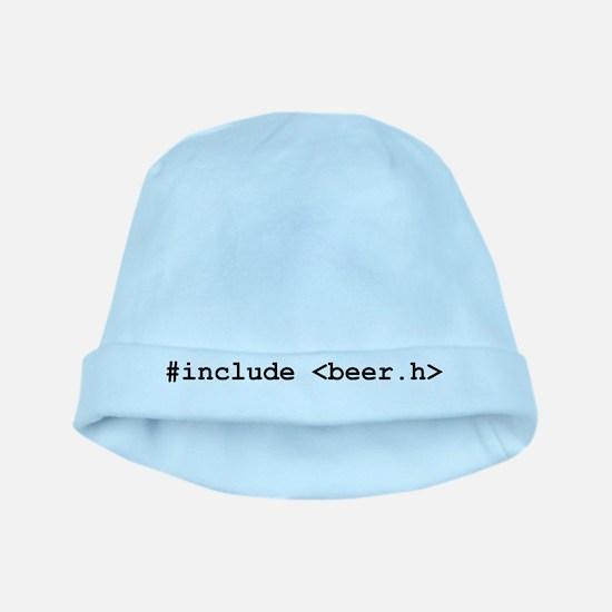 #include <beer.h> baby hat