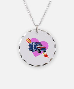 EMS Care Heart Necklace
