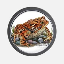 Eastern American Toad Wall Clock