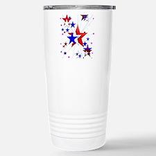 Amercian Stars Stainless Steel Travel Mug