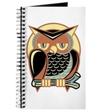 Retro Owl Journal