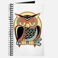 Retro Owl Journal