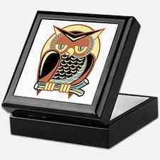 Retro Owl Keepsake Box