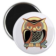 Retro Owl Magnet