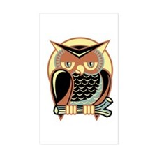 Retro Owl Decal