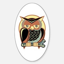 Retro Owl Decal