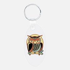 Retro Owl Keychains