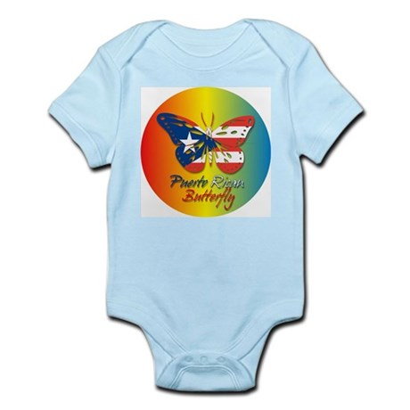 Puerto Rican Butterfly Infant Creeper