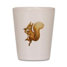 Squirrel Nutkin Shot Glass