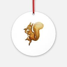 Squirrel Nutkin Ornament (Round)