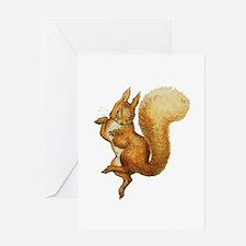 Squirrel Nutkin Greeting Card