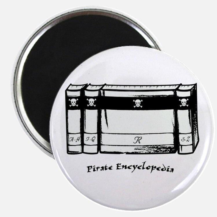 Pirate Encyclopedia Magnet