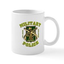 US Army Military Police Gold Mug