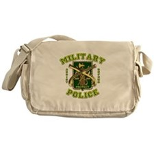 US Army Military Police Gold Messenger Bag
