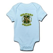 US Army Military Police Gold Infant Bodysuit