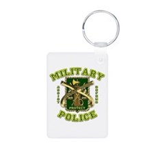 US Army Military Police Gold Keychains