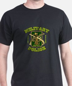 US Army Military Police Gold T-Shirt