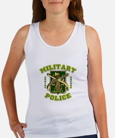 US Army Military Police Gold Women's Tank Top