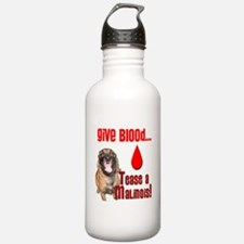 Give Blood, Tease a Ma Water Bottle