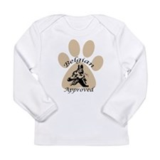 Belgian Malinois Approved Long Sleeve Infant T-Shi