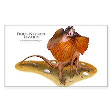 Frill-Necked Lizard Decal