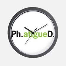 Cute Phd Wall Clock