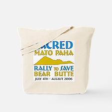 "Save Bear Butte ""Mato Paha"" Tote Bag"