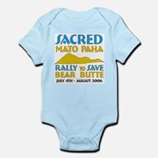 "Save Bear Butte ""Mato Paha"" Infant Creeper"