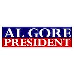 Al Gore: President (bumper sticker)