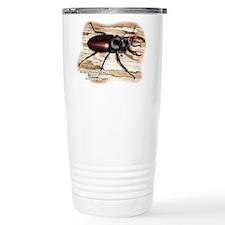 European Stag Beetle Travel Mug