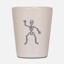 ILY Skeleton Shot Glass